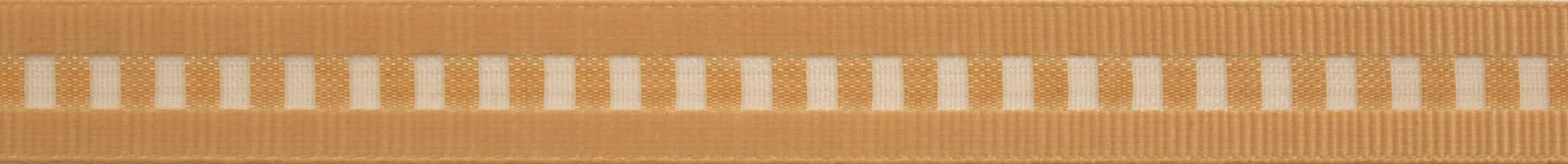 Berisfords Honey Gold Ladder Ribbon - All Widths