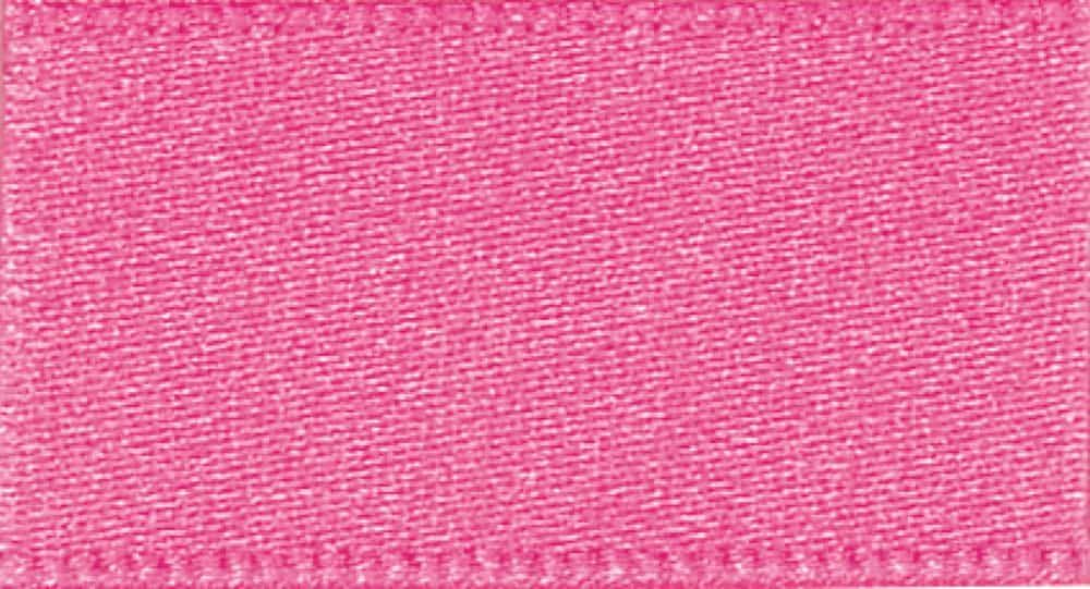 Berisfords Hot Pink Double Satin Ribbon - All Widths