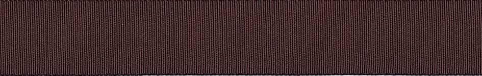 Berisfords Chocolate Grosgrain Ribbon - All Widths