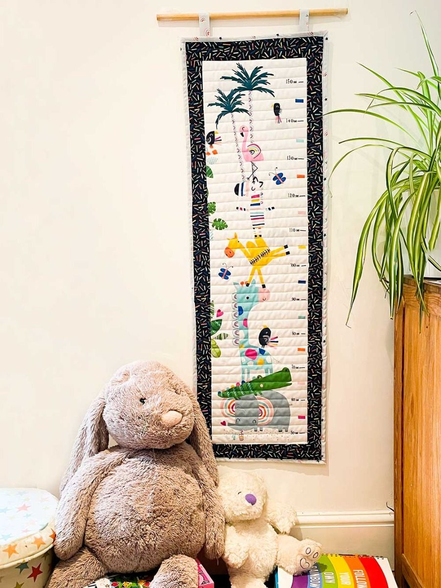 Dashwood Studio - Rainbow Friends - Height Chart Kit