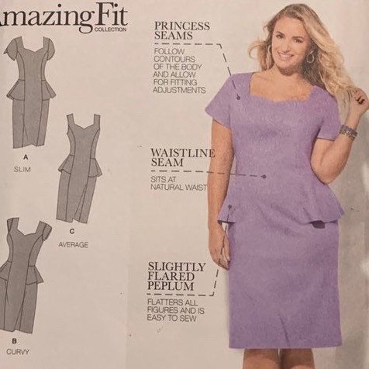Remnant - Simplicity Sewing Patterns - BB (46 - 54) - End of Line