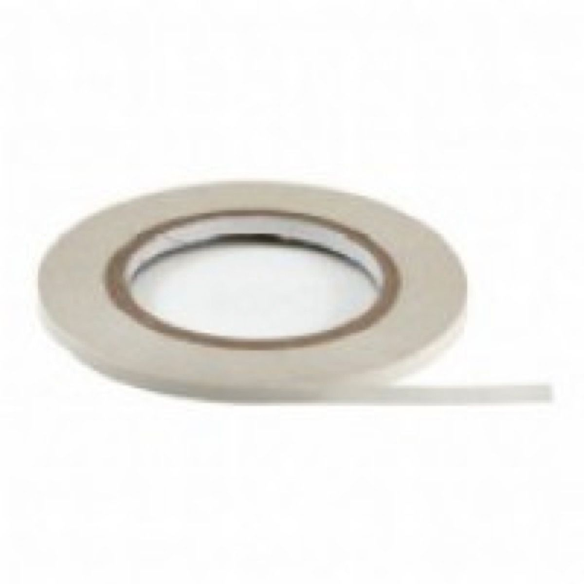 Remnant - 25m Roll Of Double Sided Sticky Tape - 6mm Wide - Dusty