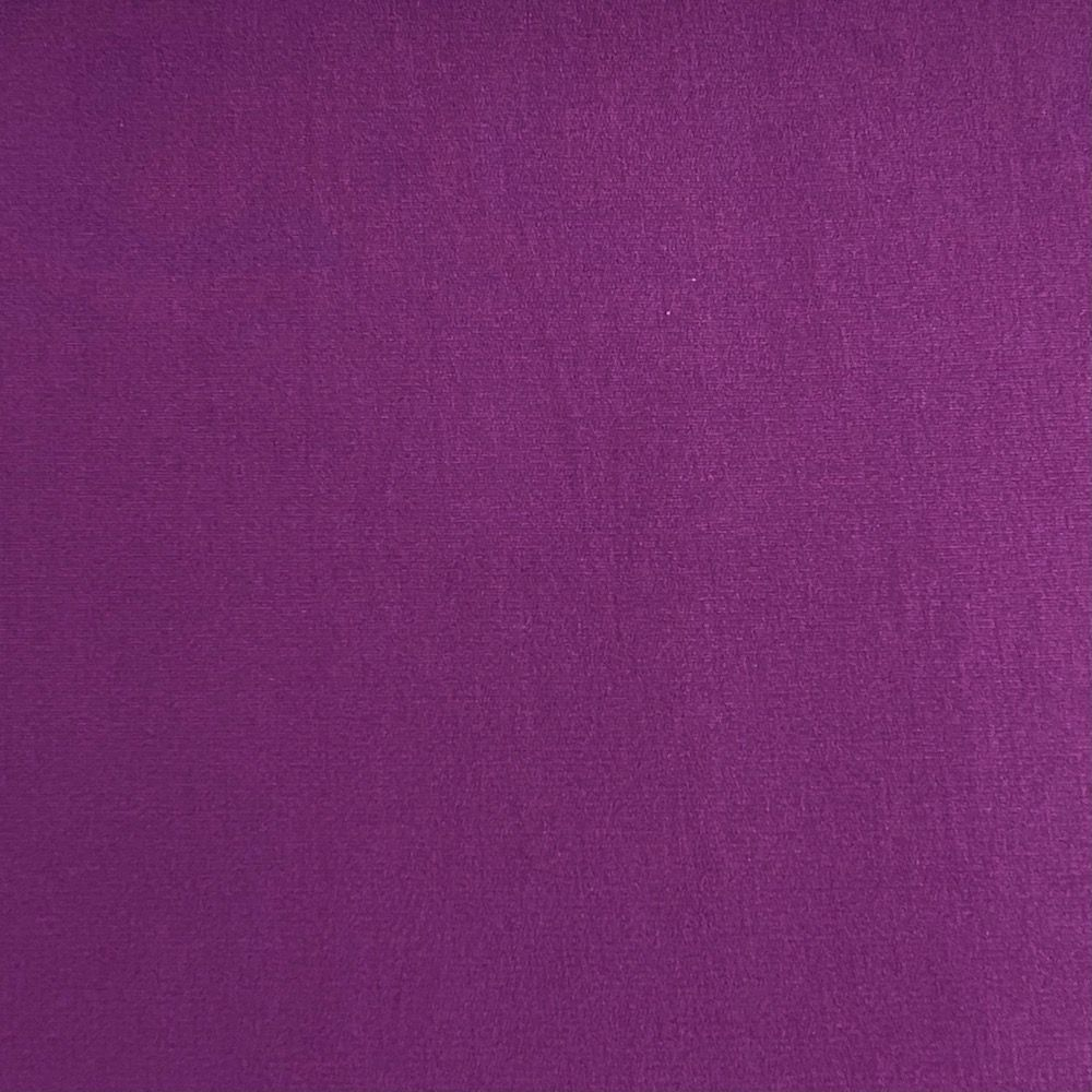 Bamboo French Terry Fabric - Purple
