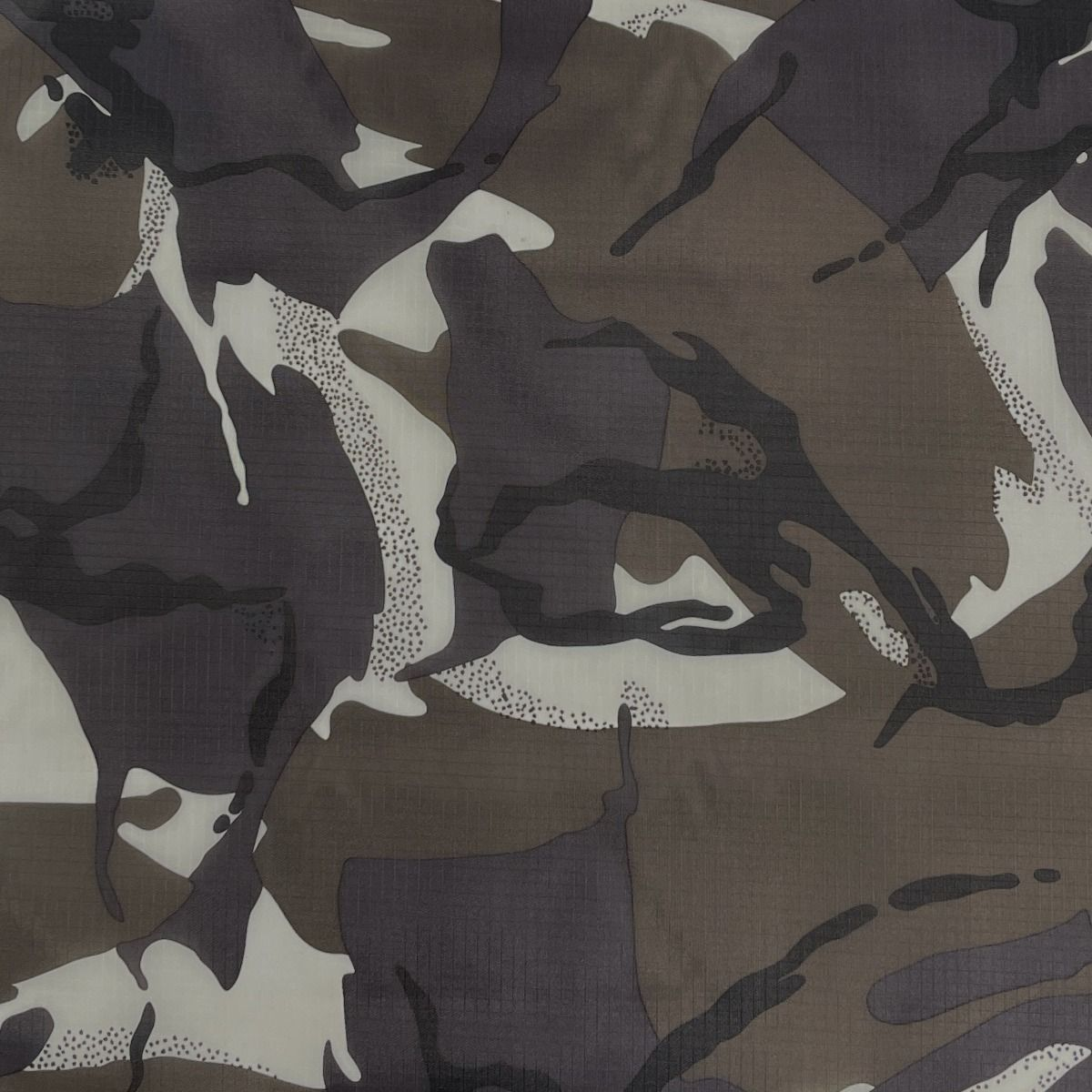 Ripstop Fabric Waterproof Material - Camouflage Arctic