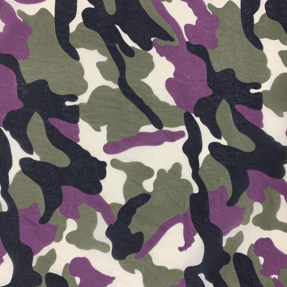Camouflage Polycotton - Urban Army Camouflage