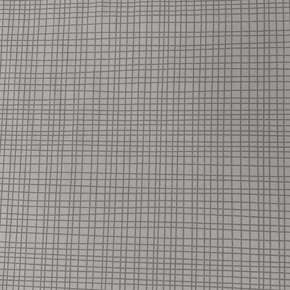 Remnant -Nutex - Extra Wide Backing - Crossroads - Grey - 47 x 275cm - Creased
