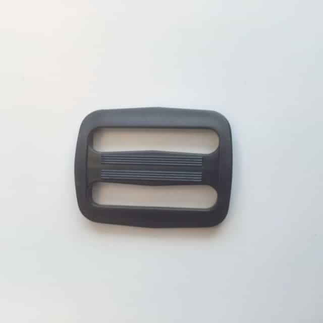 Webbing Slider Black 50mm