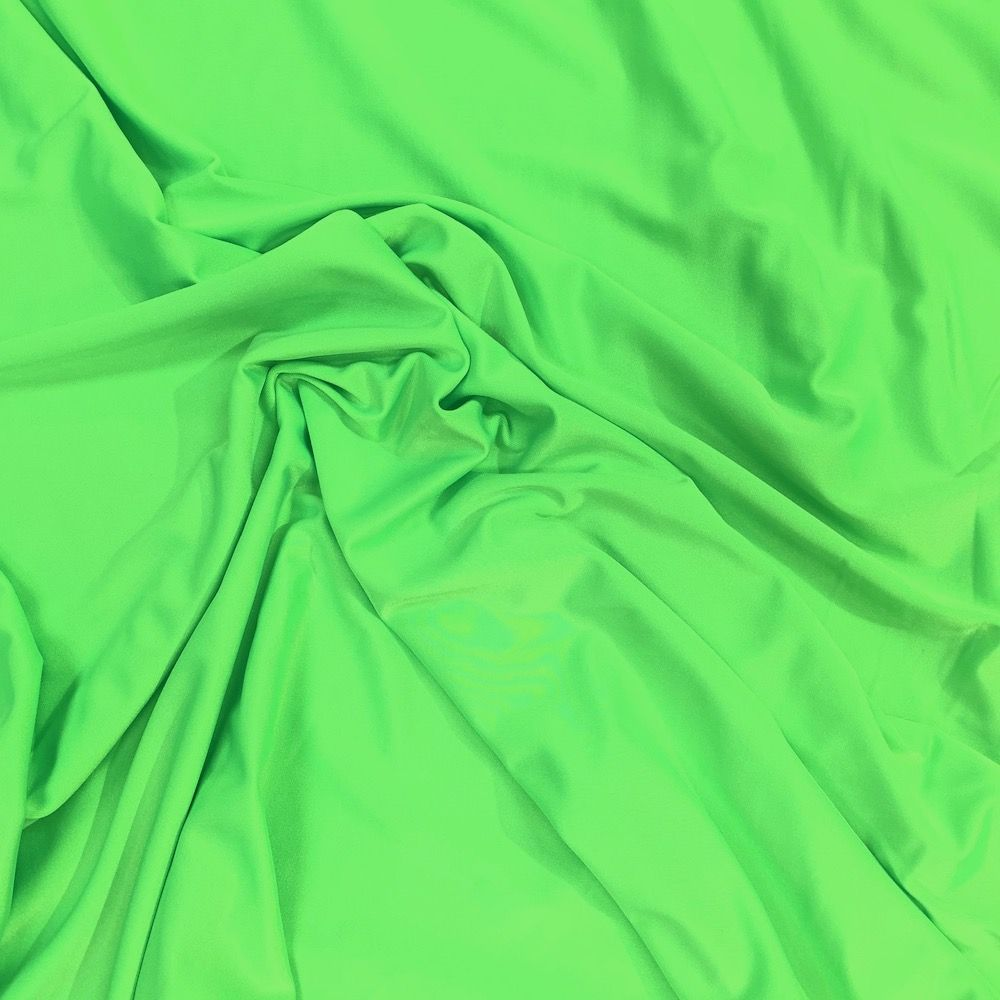 Lime 4 Way Stretch Lycra Fabric