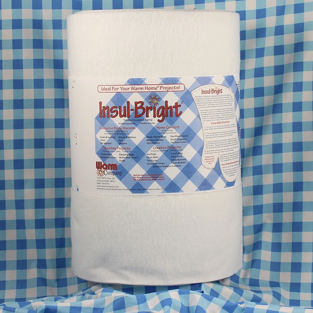 Insulating Wadding - 22 inches / 50.8 cm Wide - Per Metre