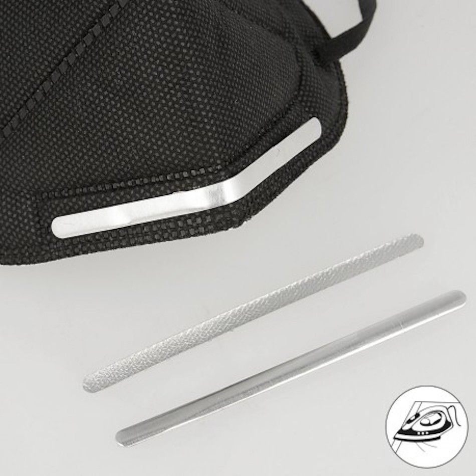 Iron On Metal Nose Strips For Face Masks - Pack Of 5