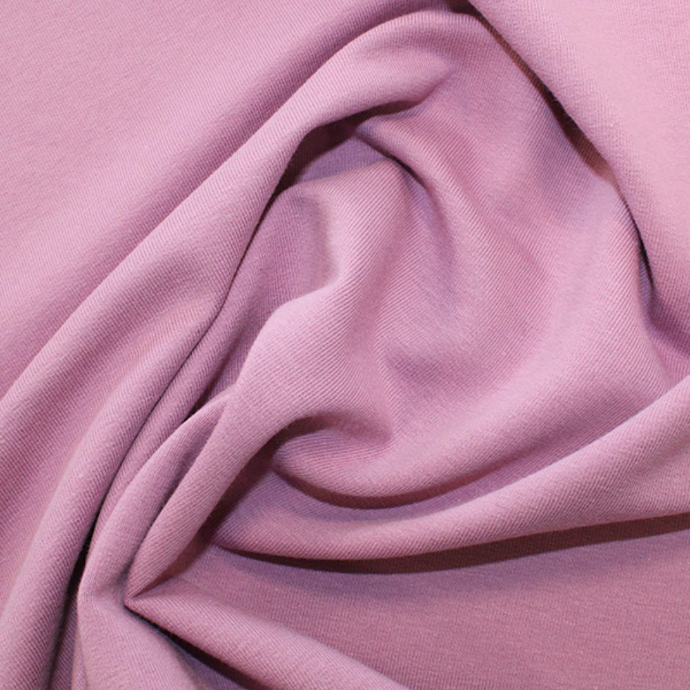 Organic Cotton French Terry Fabric - Lavender