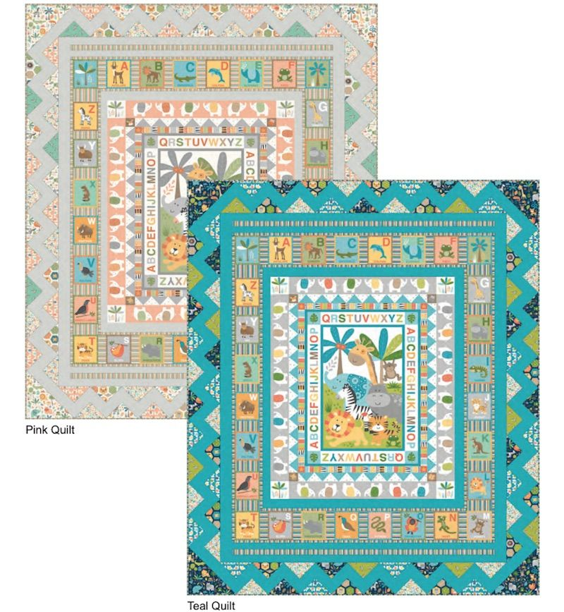 Makower - Jungle Friends - Free Quilt Pattern