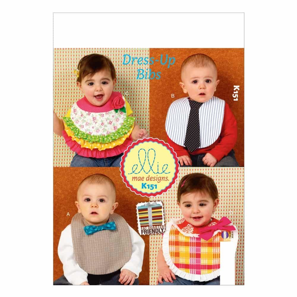 Kwik Sew Sewing Pattern K0151 Bibs