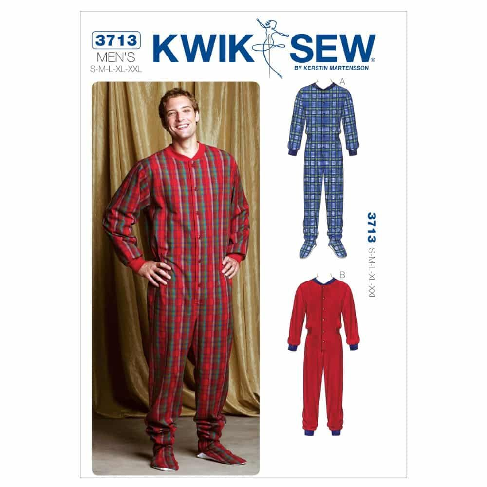 Kwik Sew Sewing Pattern K3713 Pajamas