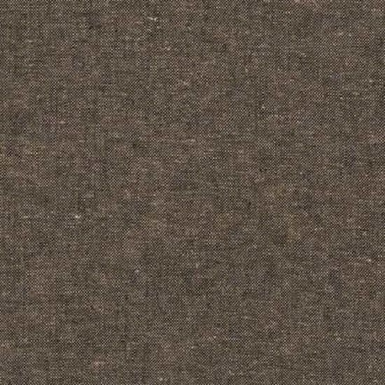 Robert Kaufman - Yarn Dyed Essex Linen - Espresso