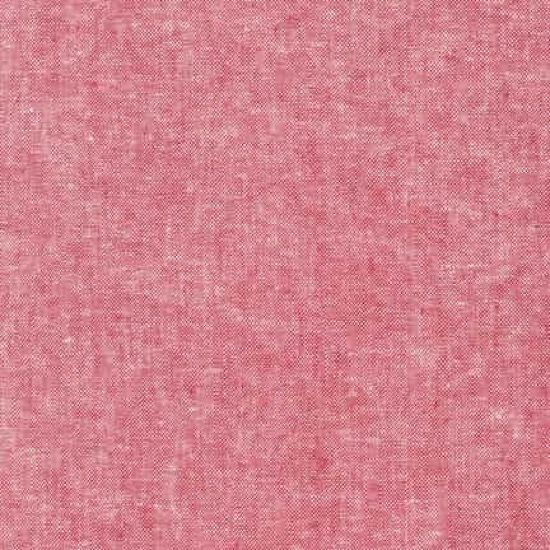 Robert Kaufman - Yarn Dyed Essex Linen - Red