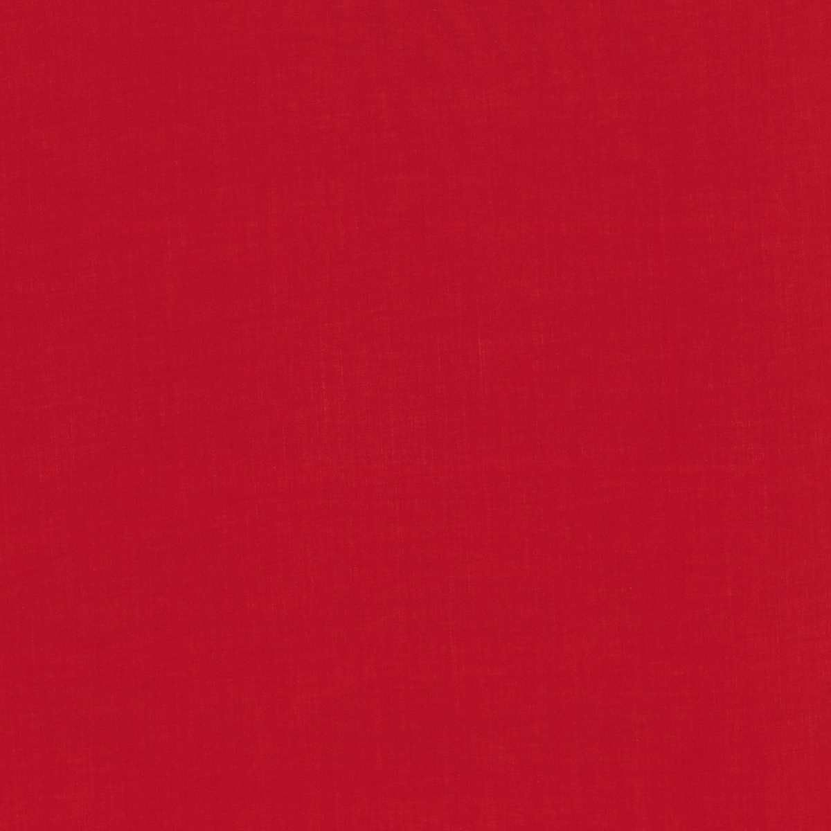 Solid Colour Plain Cotton Lawn Fabric - Dark_Red