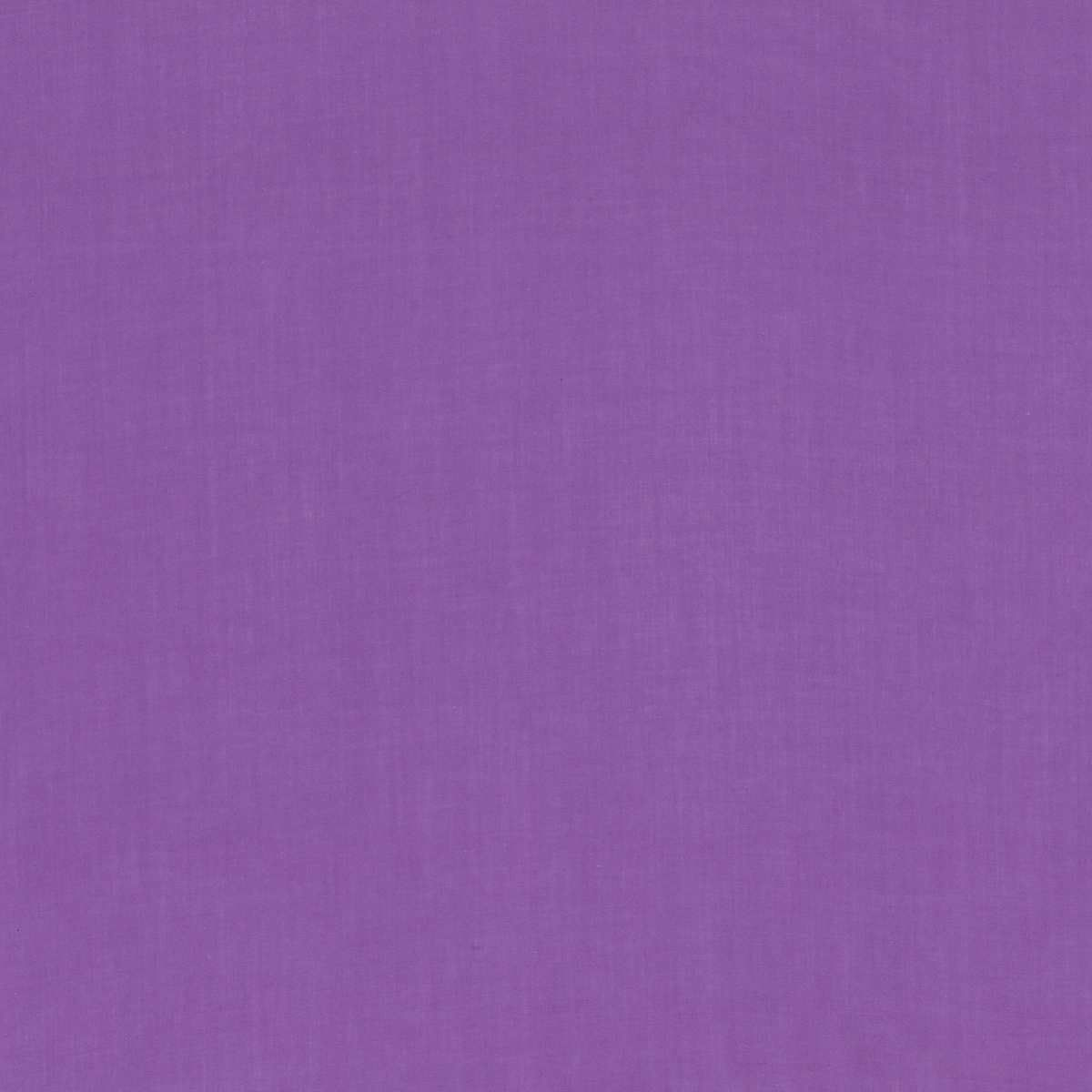 Solid Colour Plain Cotton Lawn Fabric - Purple