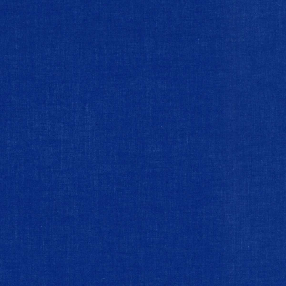 Solid Colour Plain Cotton Lawn Fabric - Royal