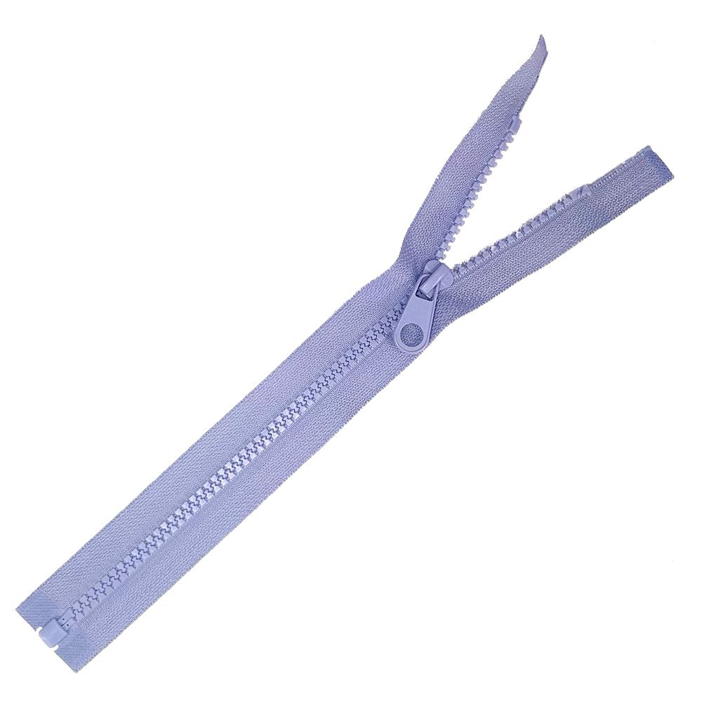 Chunky Open Ended Zips - Lilac - 10 Inches Up to 36 Inches