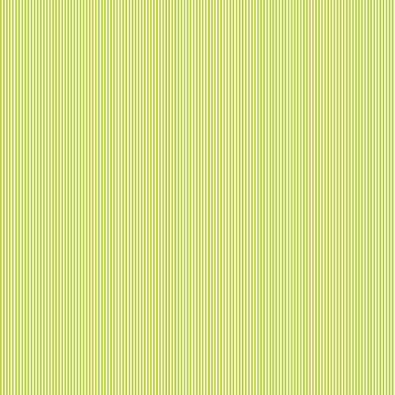 Remnant -Makower - Pinstripe - Light Green - 35 x 110cm