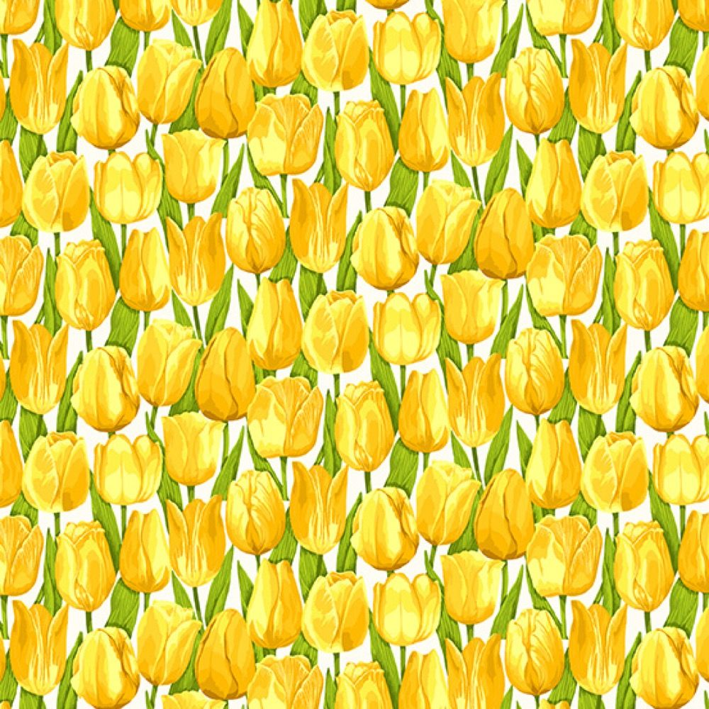 Makower - Summer Garden - Tulips Yellow