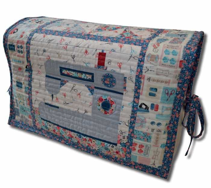 Makower Stitch In Time - Sewing Machine Cover - Free Instant Download