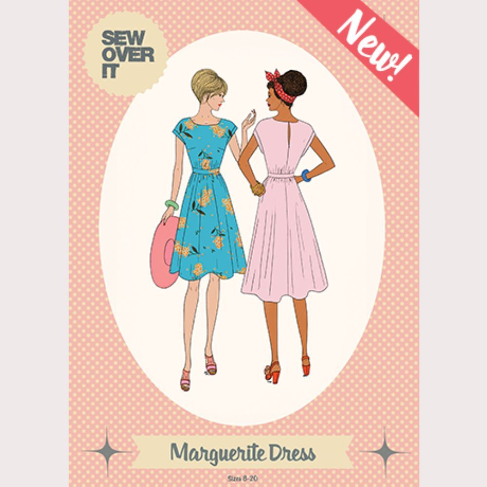 Sew Over It -  Marguerite Dress Sewing Pattern