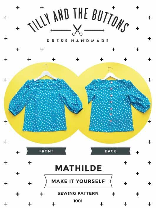 Tilly And The Buttons Mathilde Blouse Pattern