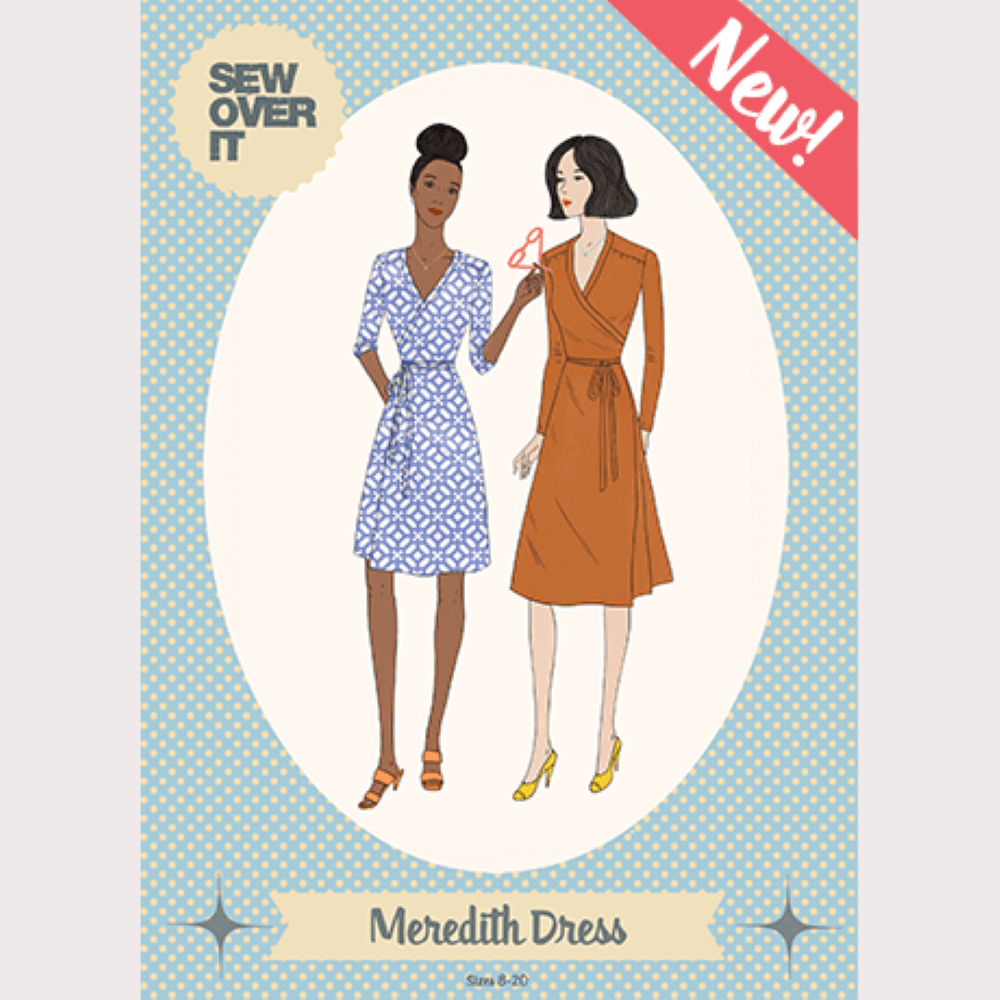 Sew Over It -  Meredith Dress Sewing Pattern