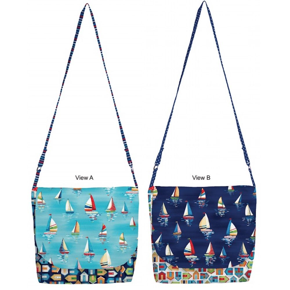 Makower - Beside The Sea - Messenger Bags Free Project - Free Instant Download