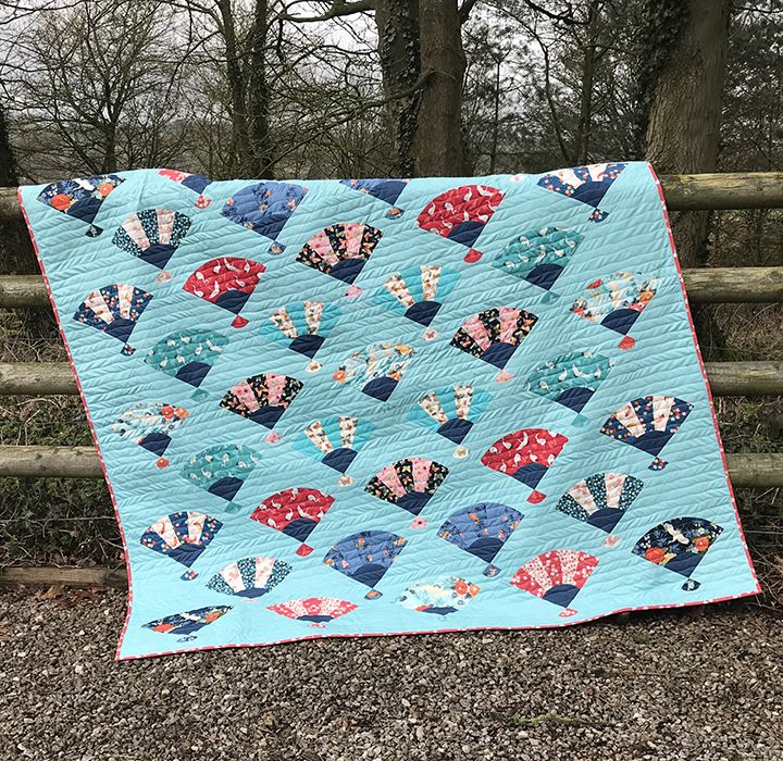 Makower - Michiko - Free Quilt Pattern