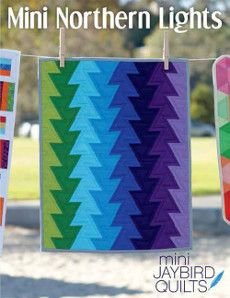 Jaybird Quilt Patterns - Mini Northern Lights Quilt Pattern
