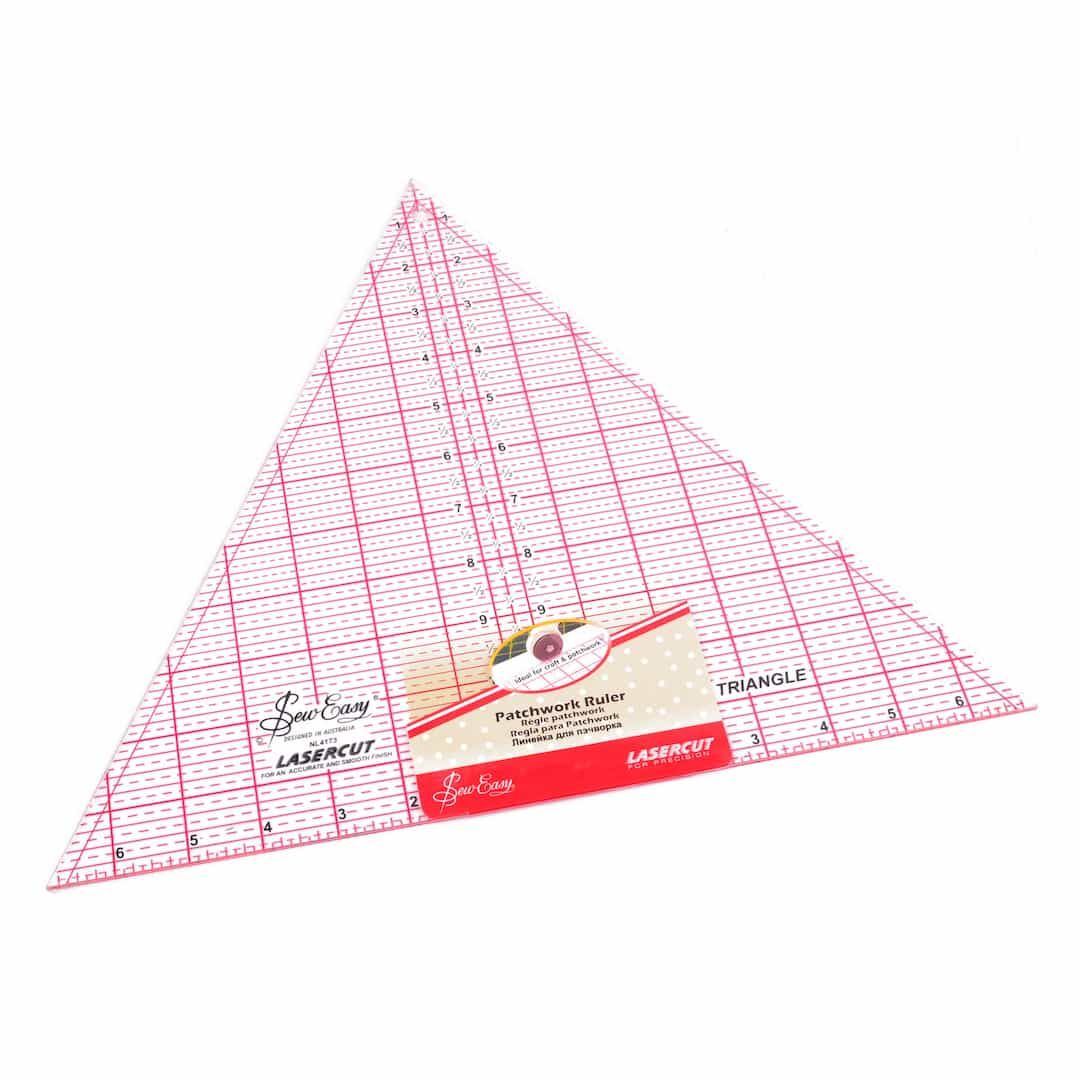 Sew Easy Patchwork Quilt Template 60 Degree Triangle 12