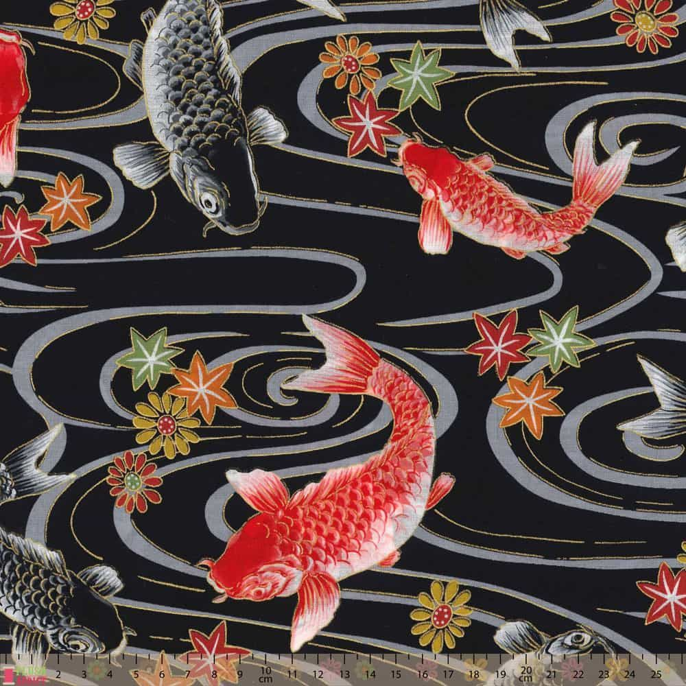Japanese Import - Relaxation - Metallic Koi