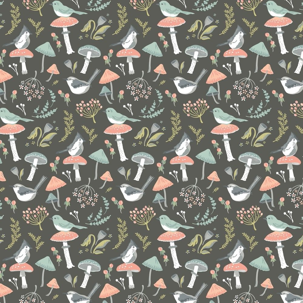 Nutex - Woodland Songbirds - Songbird Charcoal