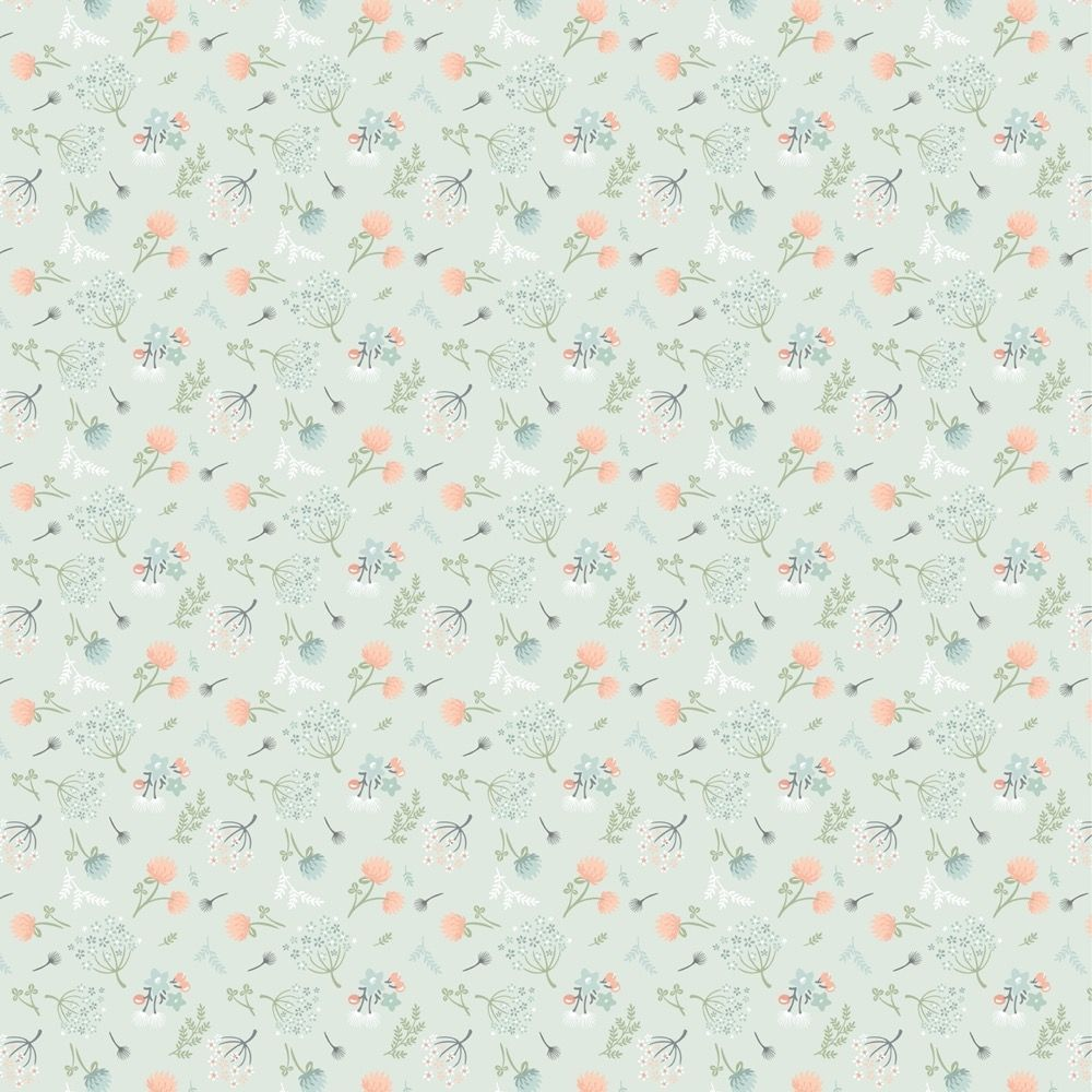 Nutex - Woodland Songbirds - Woodland Floral Mint