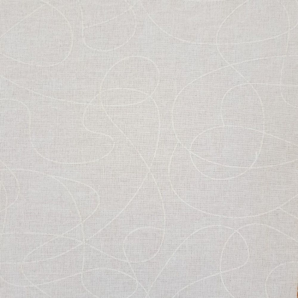 Nutex - Extra Wide Fabric - Squiggle White
