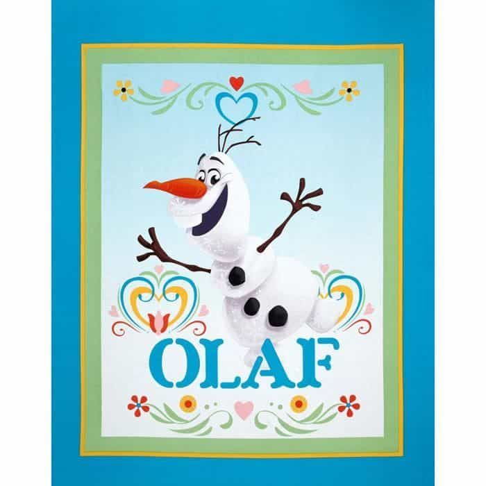 Springs Creative - Olaf From Frozen 90cm Wide Quilt Panel