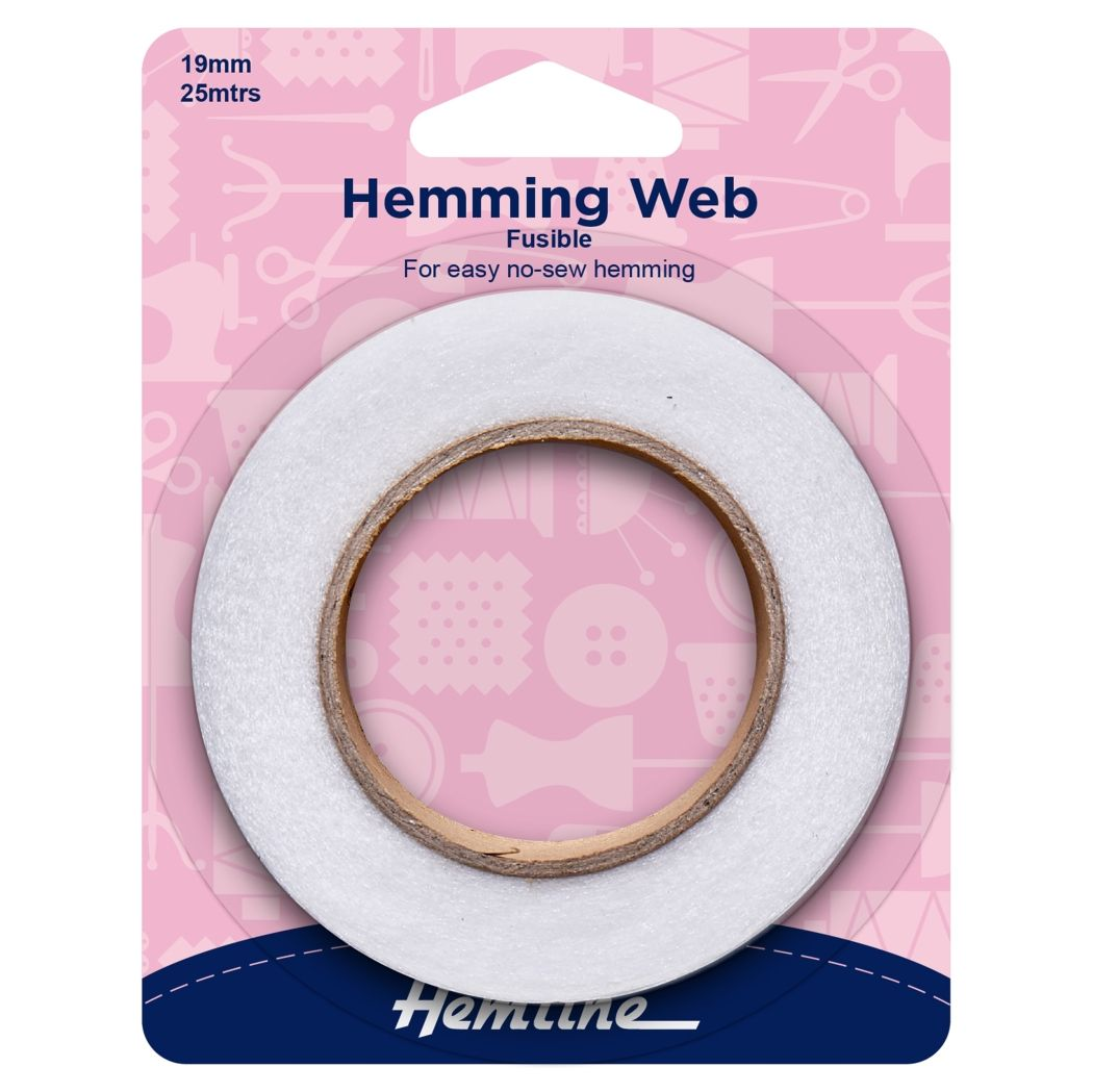 Hemming Web - Fusible - Value Pack - 25m x 19mm