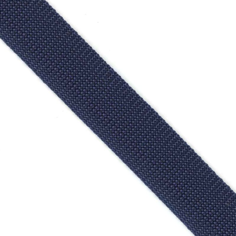 Polypropylene Webbing Navy 25mm