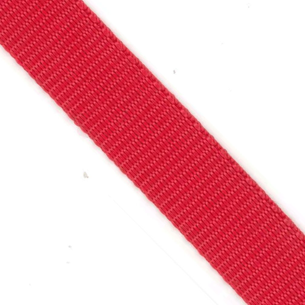Polypropylene Webbing Red 25mm
