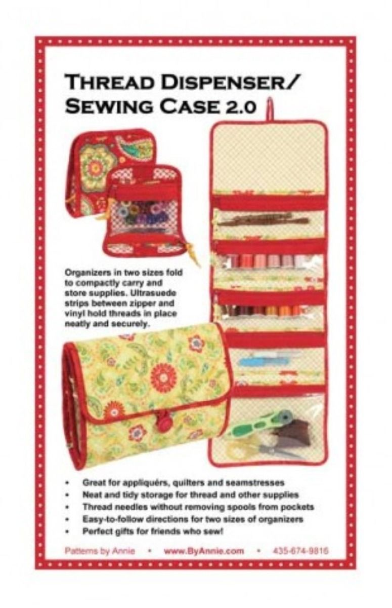 ByAnnie Sewing Pattern -  Thread Dispenser / Sewing Case Pattern