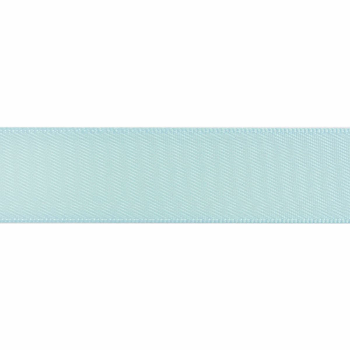 Light Blue Double Satin Ribbon 5m rolls from 3mm to 36mm wide