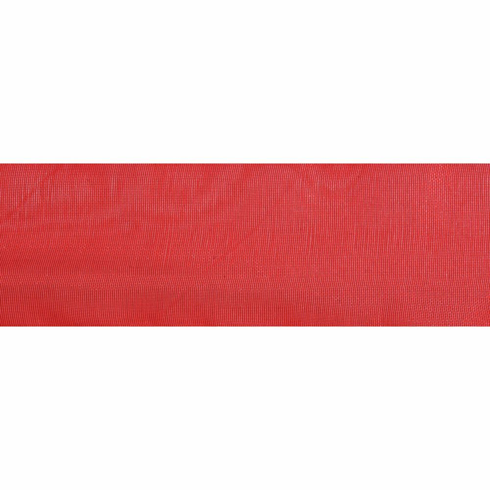 Red Organdie Ribbon 5m Rolls 25mm and 36mm Wide
