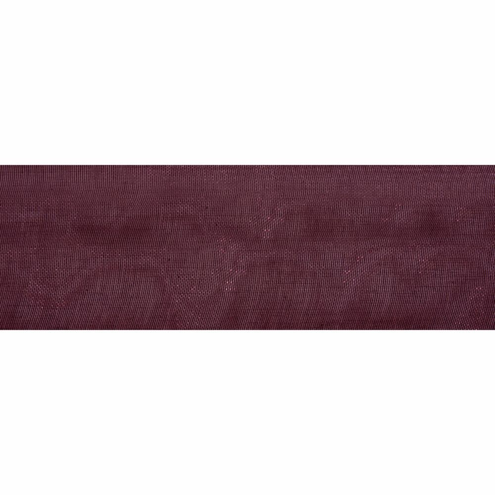 Plum Organdie Ribbon 5m Rolls 25mm and 36mm Wide