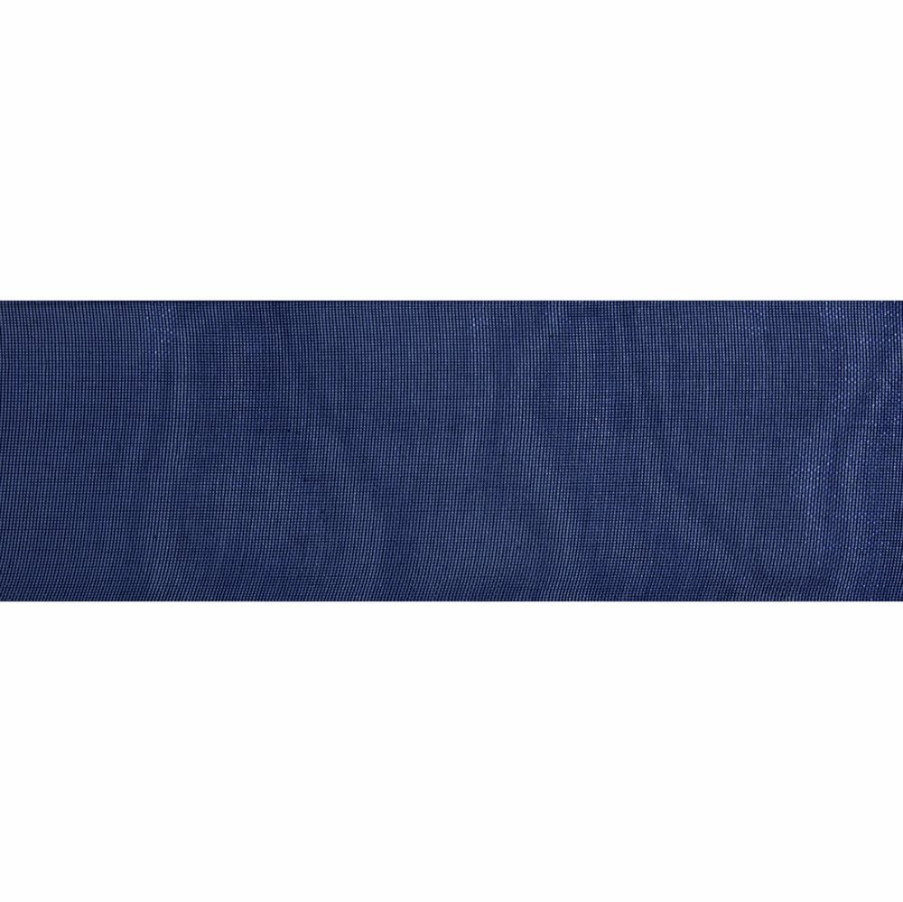 Navy Blue Organdie Ribbon 5m Rolls 25mm and 36mm Wide