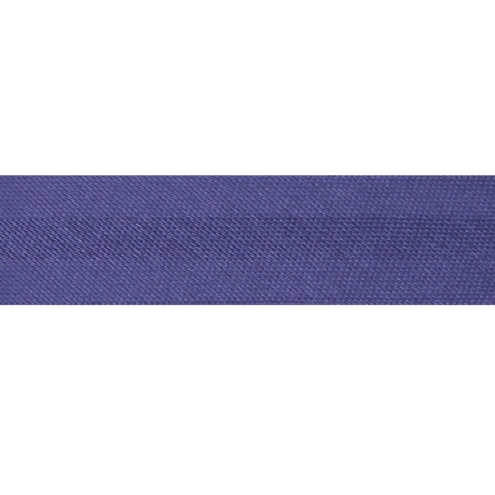 15mm Satin Bias Binding Purple