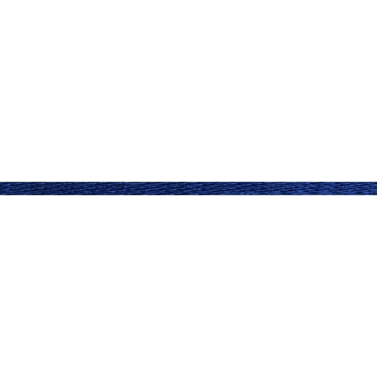 Berisfords Essentials - Rope - 2mm Wide - Navy