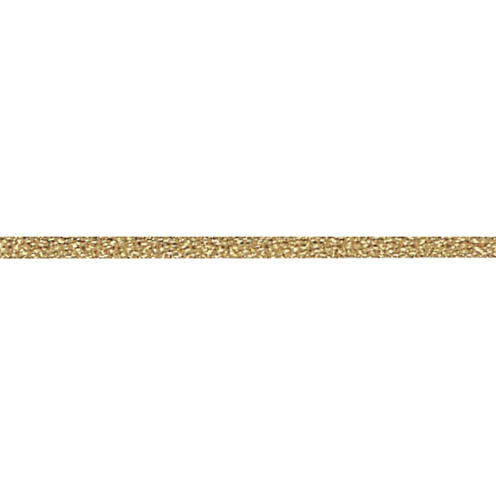 Gold Metallic Wired Rope Trim 2mm Wide